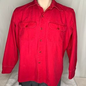 Woolrich Red Fall/Winter Vintage